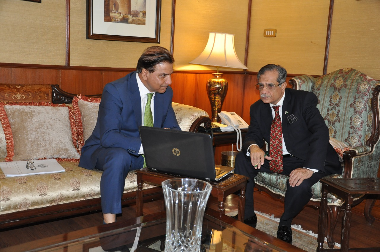 Chairman Wapda And Chief Justice of Pak